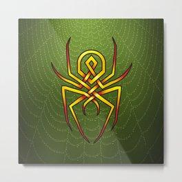 Arachnid-knot Metal Print