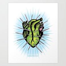 Corazon de Nopal // Dia Art Print
