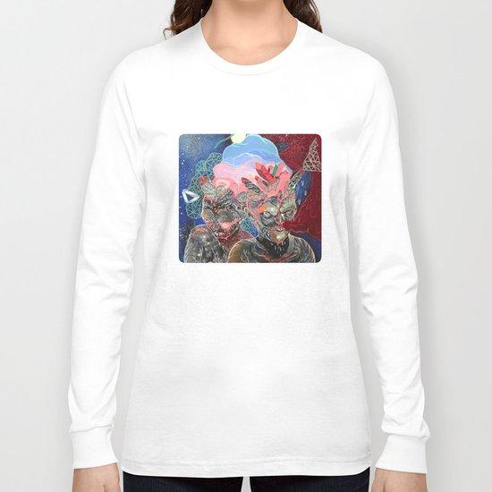 mine is bigger Long Sleeve T-shirt