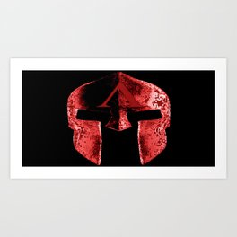 god's helmet Art Print