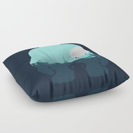 Welcome To Monsters, Inc. Floor Pillow