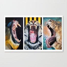 Sarah Smith Paintings Trio Canvas Print