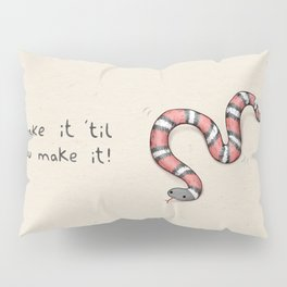 Snake It Pillow Sham