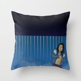 Amy Mat Piah Throw Pillow