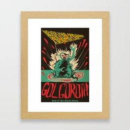 Hail Gol-Goroth Framed Art Print
