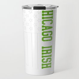 Chicago Irish products by Howdy Swag print Travel Mug