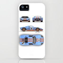 GT40 Gulf iPhone Case