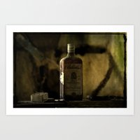 whisky Art Prints featuring Ballantines Finest Scotch Whisky by AliceArtDotCom