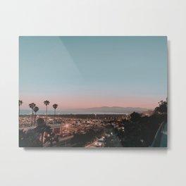 summer sunset / santa monica, california Metal Print