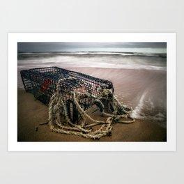 Lobster Cage Art Print