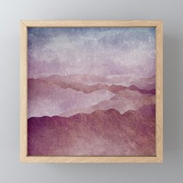 Smoky Mountains Framed Mini Art Print