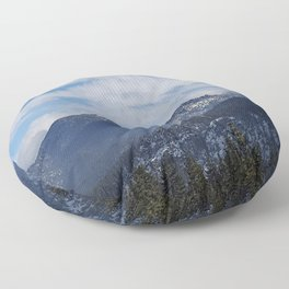 The Mountains of Lake Tahoe Floor Pillow