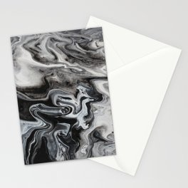 Marble Swirl Stationery Cards