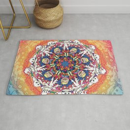 Kids See Ghosts Mandala Rug