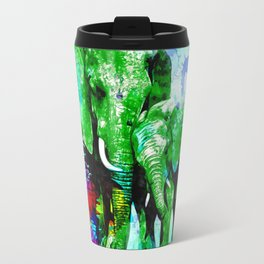 Elephant Family Travel Mug