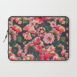 Vintage Flowers and Bees Laptop Sleeve