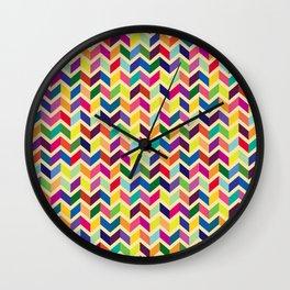 Geometric Pattern #2 Wall Clock