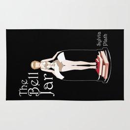 The Bell Jar by Sylvia Plath Illustration Rug