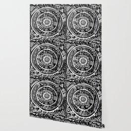 The B&W Wheel Wallpaper