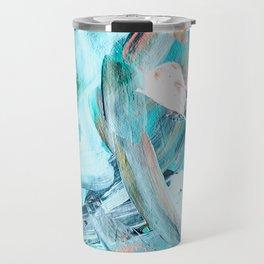 Soft Wave, Abstract Travel Mug