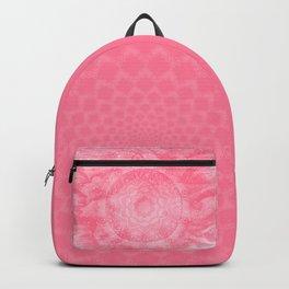 FLORAL MANDALA PINK Backpack