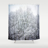 frozen Shower Curtains featuring Frozen  by JMcCool