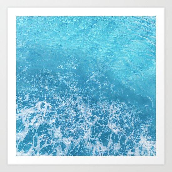 Sea Art Print
