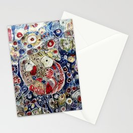 Nights in White Satin Stationery Cards