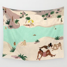 River in the Desert Wall Tapestry