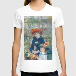 "Pierre Auguste Renoir ""Two Sisters"" T-shirt"