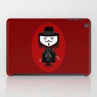 vendetta iPad Cases featuring Vendetta by Sombras Blancas Art & Design