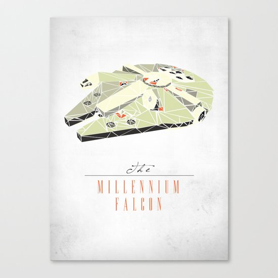 The Millennium Falcon Canvas Print