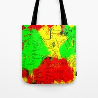 rasta Tote Bags featuring Rasta by Kimberly