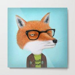 Foxes Love J. Tillman Metal Print