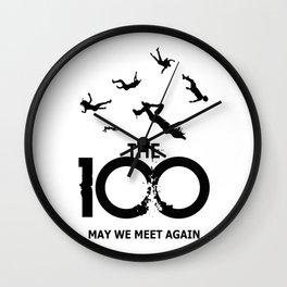 The 100 Meet Again Wall Clock