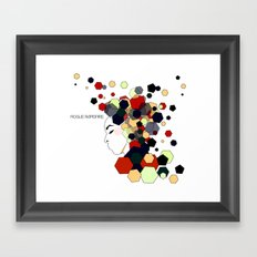 Geometric Clothing Framed Art Print
