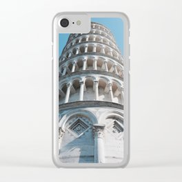 Leaning Tower of Pisa Clear iPhone Case