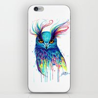 aurora iPhone & iPod Skins featuring -Aurora- by PeeGeeArts