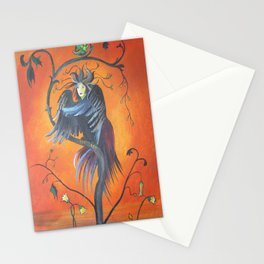 Gamaun The Prophetic Bird With Ruffled Feathers Stationery Cards