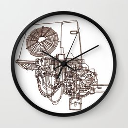 Conditioning  Wall Clock