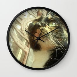 The Friendly Stray Wall Clock