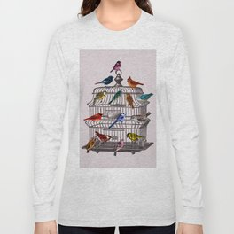 Bird cage Long Sleeve T-shirt