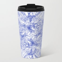CPU (Dark T-shirt Version) Metal Travel Mug