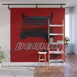 Challeger Demon Wall Mural