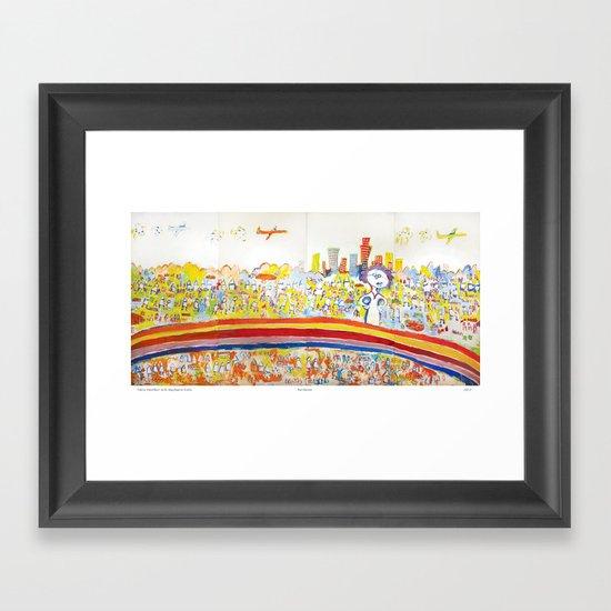 Rainbows Framed Art Print