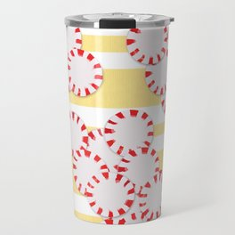 moves in red and yellow parts Travel Mug