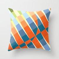art deco Throw Pillows featuring Art Deco by Robert Cooper