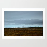 iceland Art Prints featuring Iceland by Erin Sheariss Photography