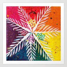Leaves on the World Tree: The Arab Date Palm Art Print