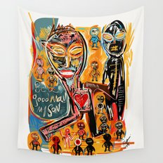 Be a good man my son Wall Tapestry